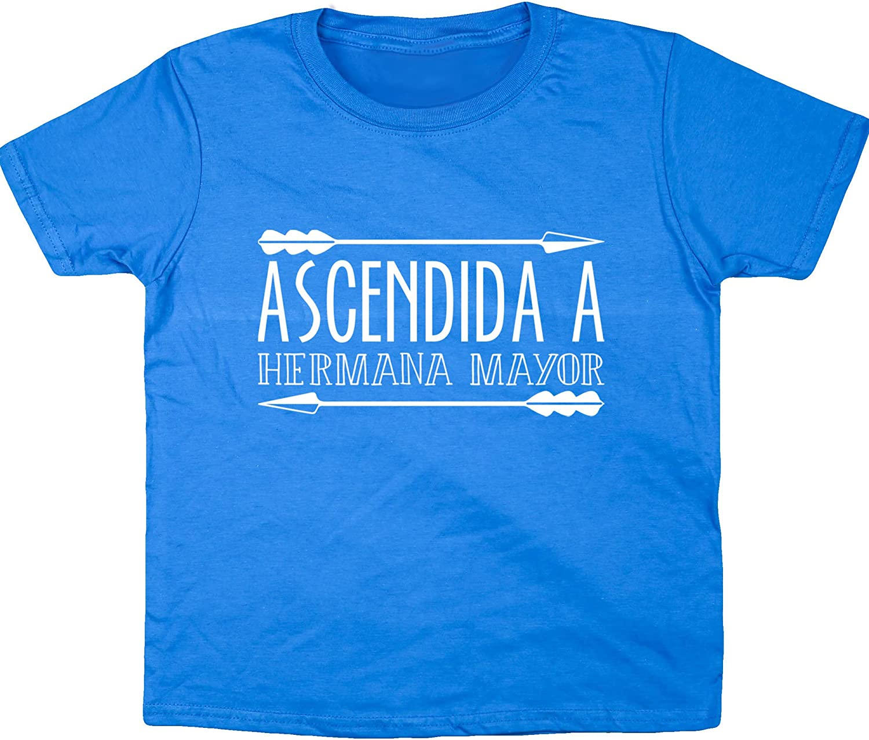 Hippowarehouse Ascendido A Hermano Mayor Camiseta Manga Corta ni/ños ni/ñas Unisex