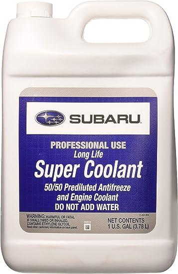 Genuine OEM Subaru Long Life Super Coolant 2-Quarts P//N SOA868V9260