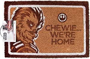 Star Wars Chewie. We're Home Door Mat | Official Merchandise (One Size)