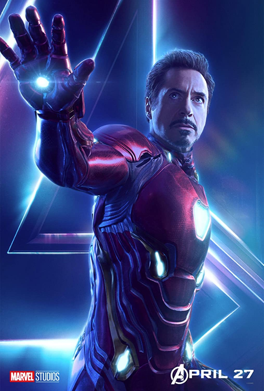 Black Creations Avengers Infinity War 11 Cartel Lienzo ...