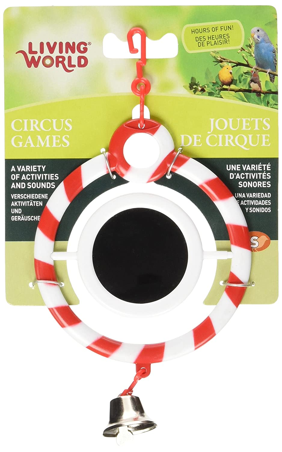 Living World 80931 Circus Toy Red Mirror