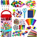 FunzBo Arts and Crafts Supplies All in One D.I.Y. Crafting Collage Arts Set
