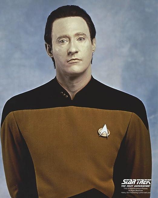 Star Trek teniente comandante datos como por Brent Spiner 8 x 10 ...