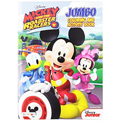 UPD Mickey & Roadster Racers Jumbo Coloring Book: Toys & Games