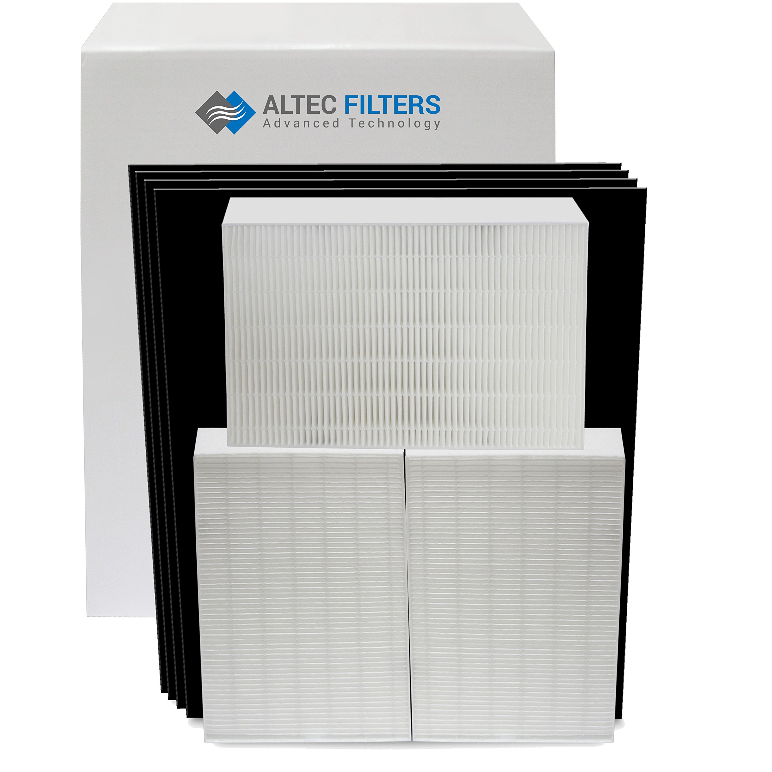 Replacement Filters Bundle for Honeywell HPA300 Air Purifier 3 True HEPA Filters Plus 4 Activated Carbon Prefilters