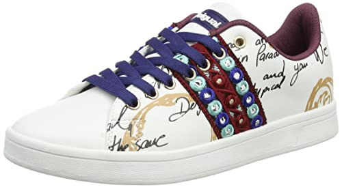 Womens Shoes_Cosmic Exotic Lettering Low-Top Sneakers Desigual 0W3h5