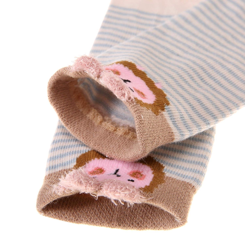 Eocom 5 Pack kids Girls boys Low Cut Cotton Soft Cartoon Cute Breathable Socks
