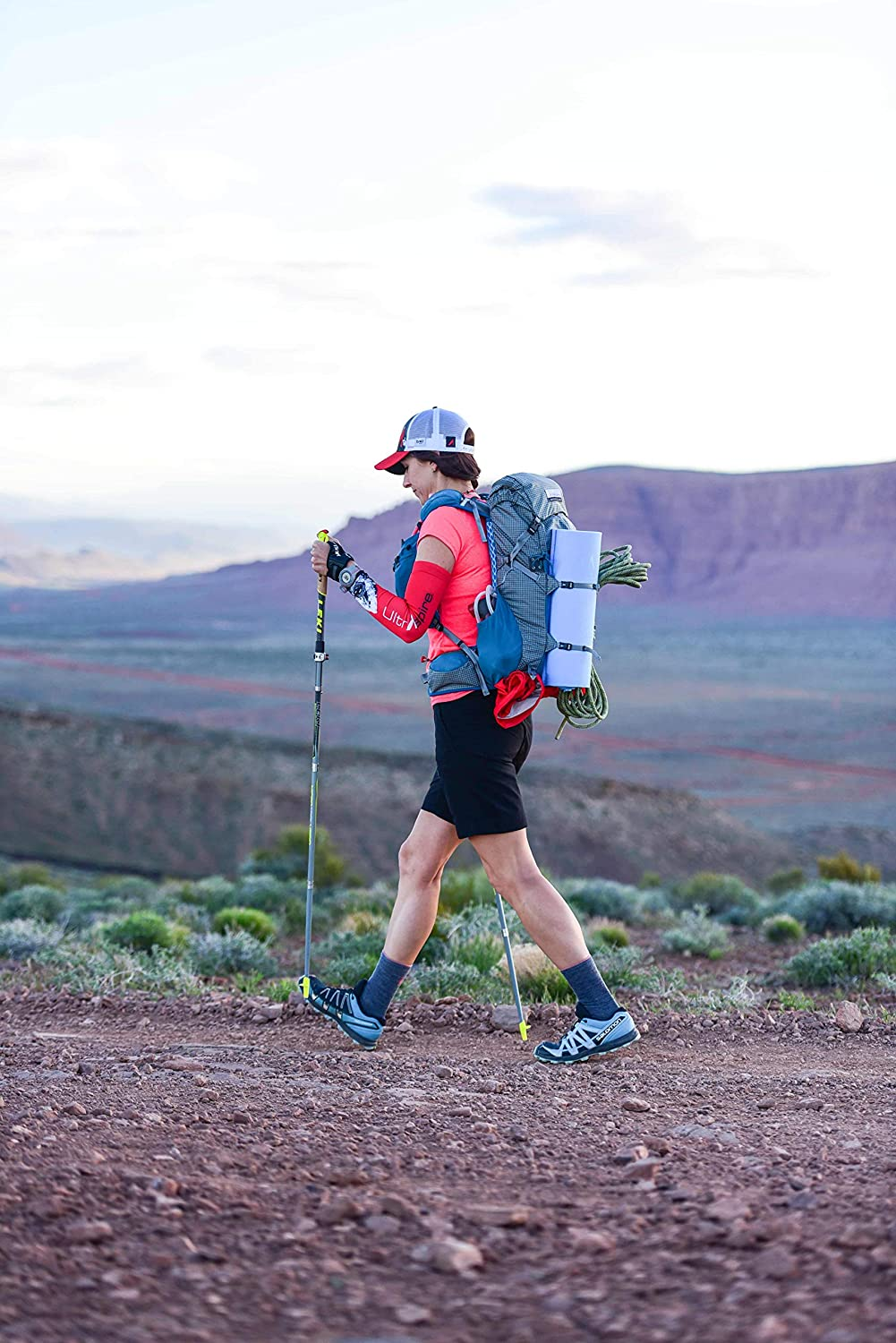 Ultraspire Epic XT Lightweight Multi-Day Hiking Backpack | 25L Capacity | Day Hikes, Trail Running, Mountaineering, Travel | Hydration Bladder Compartment, Rapid Access Pockets, and Universal Fit