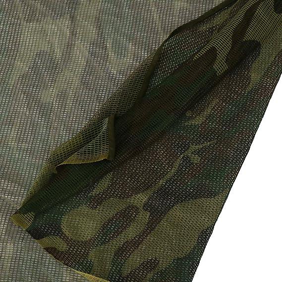 MagiDeal Écharpe Foulard Camouflage Commando Voile Filet Protection Visage pour  Chasse Observation d Oiseaux - Forest Camo, 190x90cm  Amazon.fr  Sports et  ... c6944e3d1a8