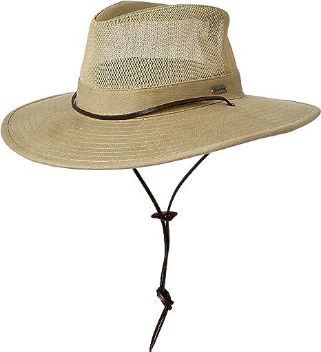 139db5b77b080 Amazon.com  Field   Stream Men s Mesh Safari Hat  Sports   Outdoors
