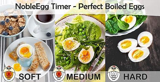 NobleEgg temporizador para huevos: Amazon.es: Hogar