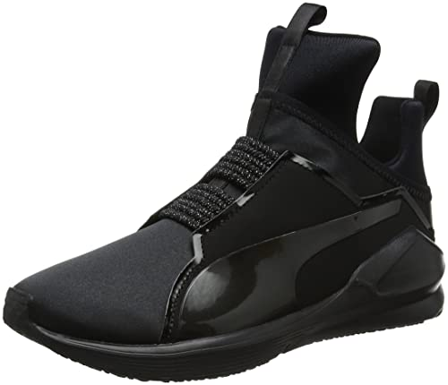 Amazon.com: PUMA Fierce Satin En Pointe Womens Training Shoes - SS18-9 - Black: Shoes