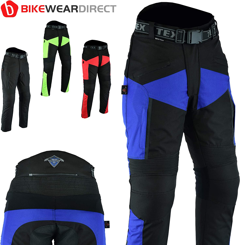in 4 Farben und verschiedenen Gr/ö/ßen Wasserdichte Motorradhose Texpeed XTRA Mit Schutz