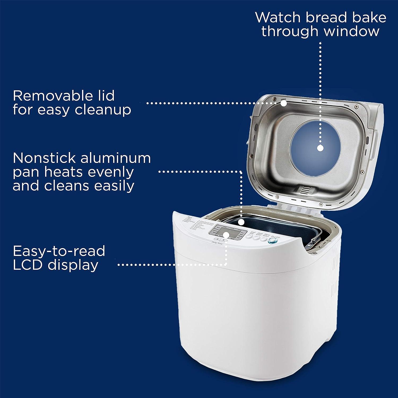 Amazon.com: Máquina de pan de cocción rá ...