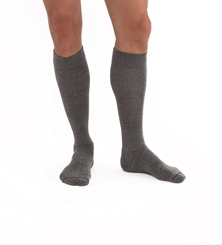 Jobst 7515513 20-30 mmHg Unisex ActiveWear Closed Toe High Socks - Steel Gray, Large Full B077P6C3M7