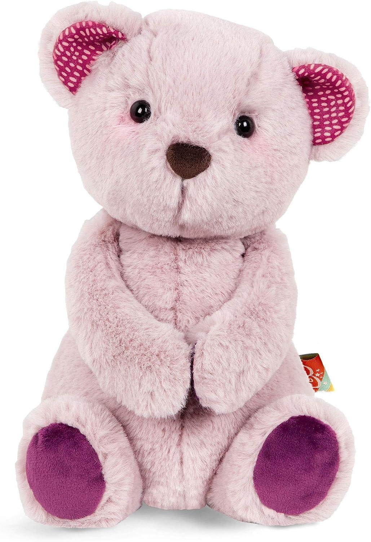 16 Inch BEJOY Teddy Bear Stuffed Animals Plush Bear Holding Rose Soft Plush Toy Valentines Day Pink