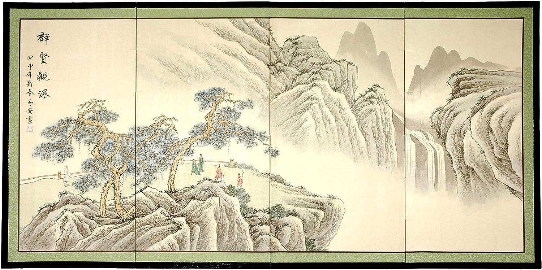 "Oriental Furniture Mountain of Knowledge - 18"""
