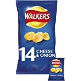 Walkers Cheese & Onion Crisps,14x25g