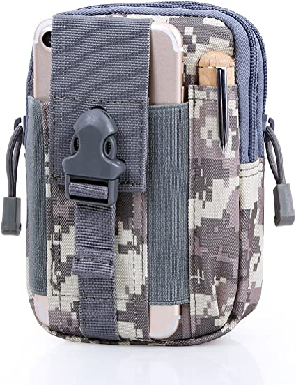 Tactical Waist Pack Belt Bag Camping Hiking Military Molle Pouch Phone Wallet