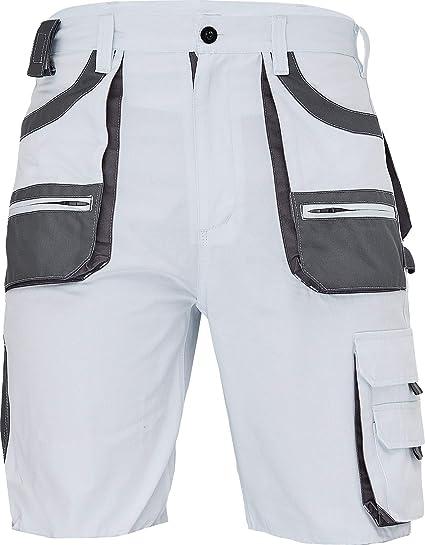 DINOZAVR Crambe Pantaloni Corti da Lavoro Uomo Bermuda Cargo Pantaloncini Estivi con Tasche Multifunzione