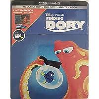 Finding Dory 4k Ultra HD + Blu Ray + Digital Code Steelbook