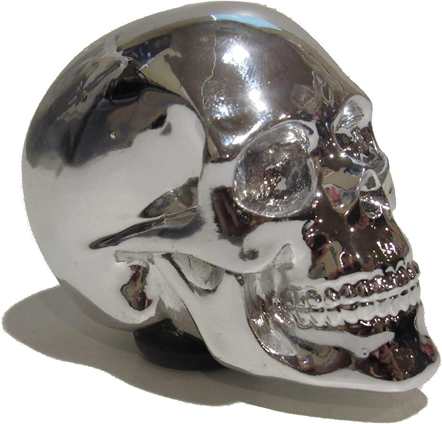Kool Collectibles Chrome Skull Shift Knob Shifter Rat Rod Lever