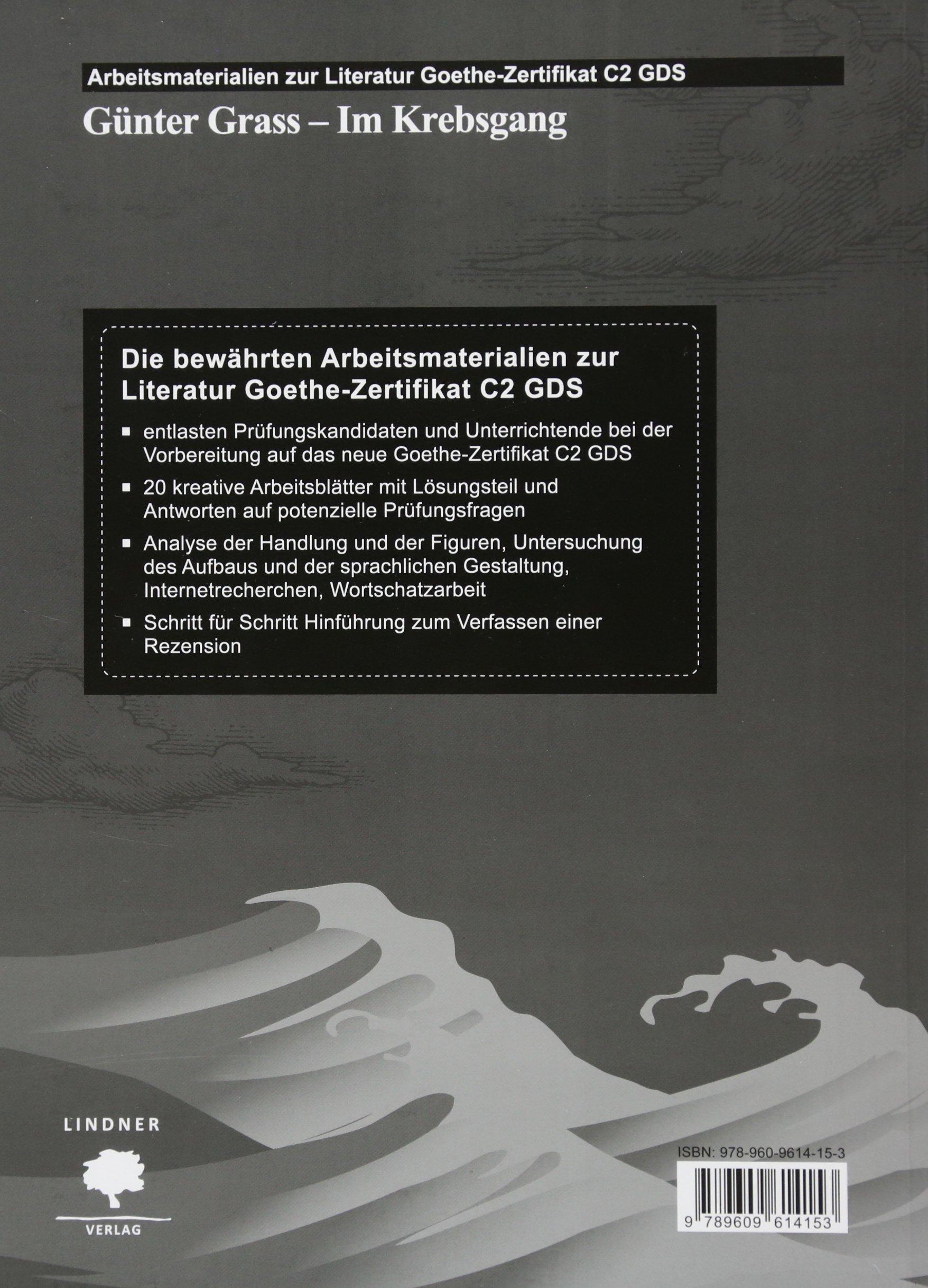 Arbeitsmaterialien zur Literatur Goethe Zertifikat C2 GDS: Günter ...