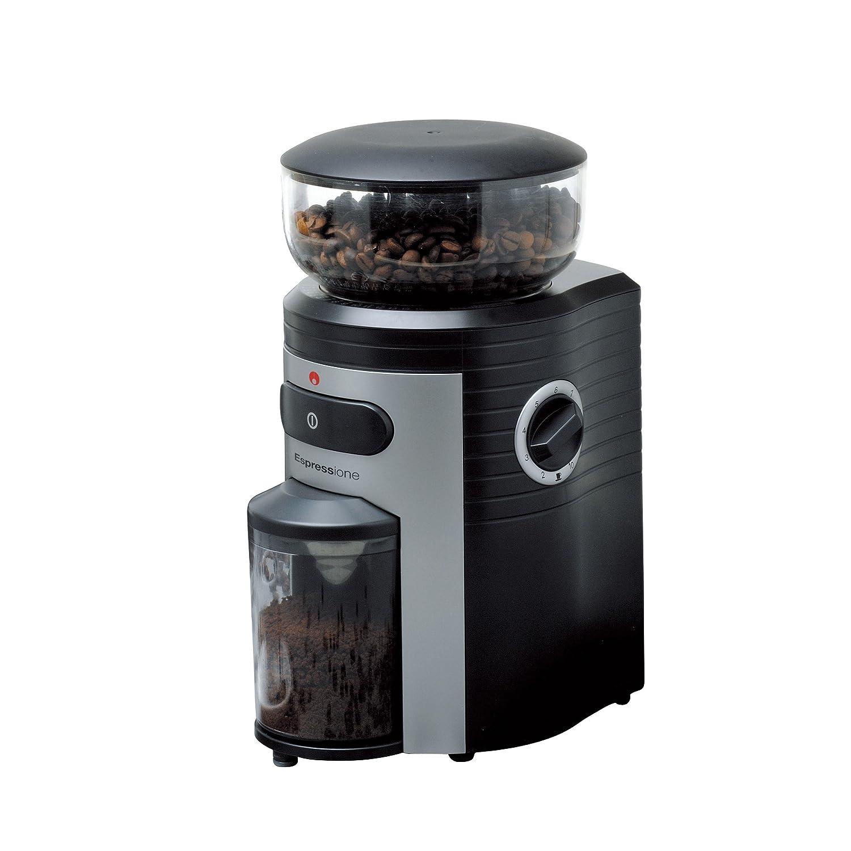 100%正規品 Espressioneプロフェッショナルコニカルバリコーヒーグラインダー B003R50LP4、ブラック/シルバー B003R50LP4, Vibram Fivefingers Japan:714cdcde --- staging.aidandore.com