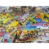 Mix of 20 Lego Instruction Books - 1980s-2000s Star Wars, Ninjago, Harry Potter, Castle, City, Town, Friends, Space Etc