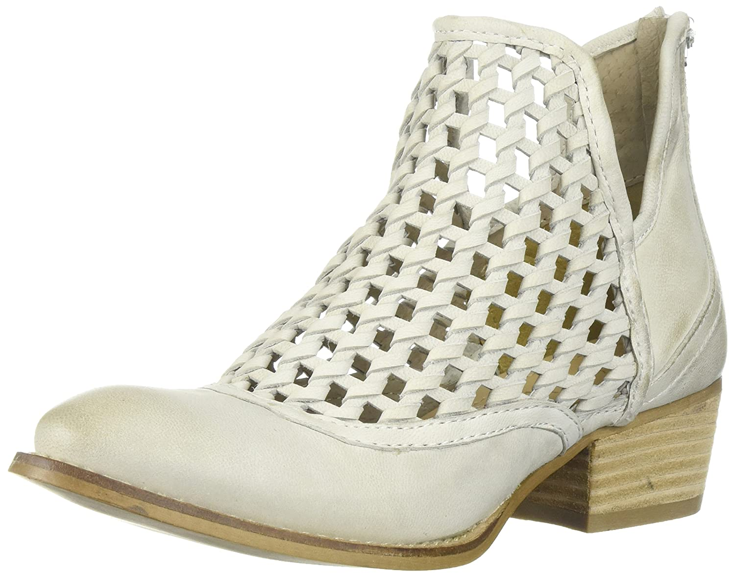 Very Volatile Women's Hudsun Ankle Boot B072PV7WH4 7.5 B(M) US|Off White