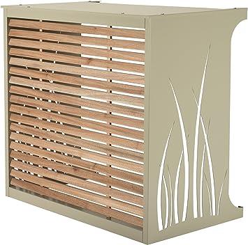 Caja para Esconder Aire Acondicionado - Modelo Pequeño de Aluminio, blanco: Amazon.es: Bricolaje y herramientas