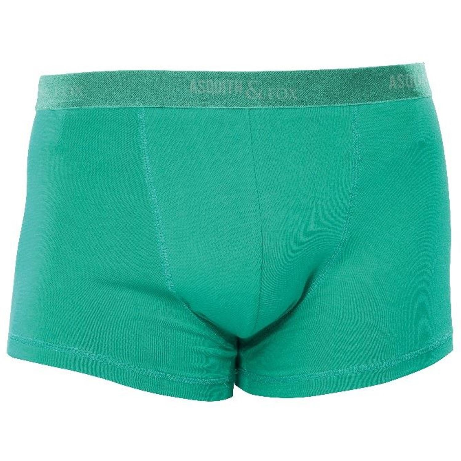 Asquith Fox Mens 2 Pairs Shorty Trunk Boxers