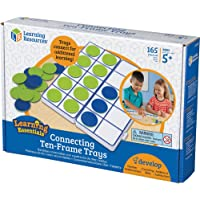 Learning Resources LER6650 Connecting Ten-Frame Trays,Multi