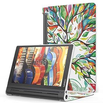 MoKo Lenovo Yoga Tab3 Plus 10.1 Funda - Premium Ultra Ligera Lightweight Shell Cover Case para Lenovo Yoga Tab 3 Plus (YT-X703F) 10.1 Pulgadas 2016 ...