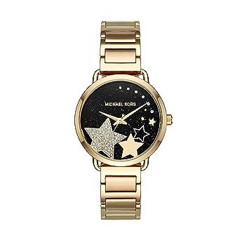 Michael Kors Damen Analog Quarz Uhr mit Edelstahl Armband MK3794 ... 2eae16de0e