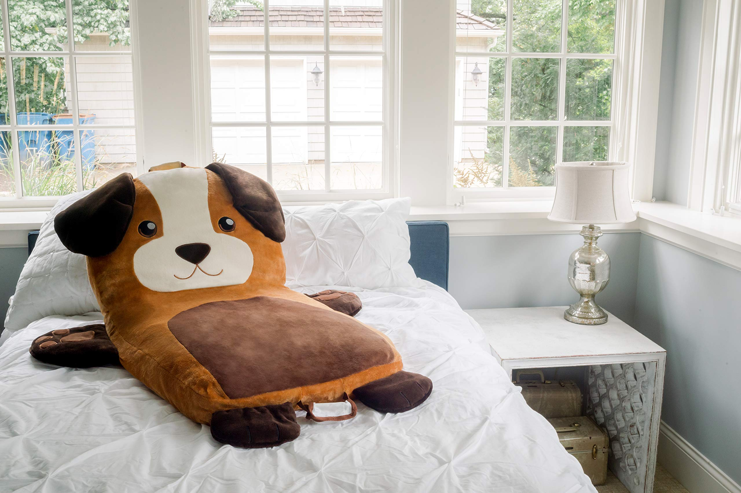 Soft Landing | Luxe Loungers | Dog Character Cushion by Soft Landing