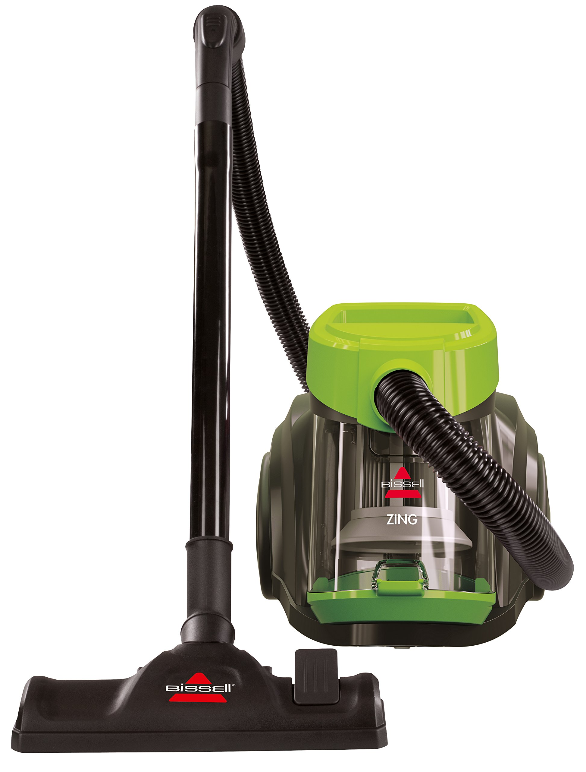 Bissell Zing Bagless Canister Vacuum Corded Plastic Metal