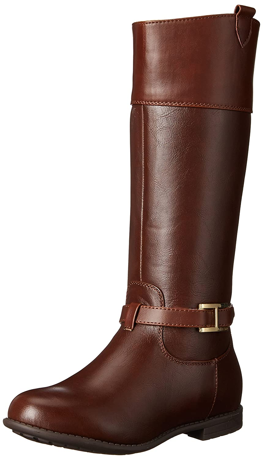 Amazon.com | Tommy Hilfiger Kids Andrea Signature Riding Boot ...