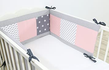 Bebilino paracolpi per lettino e culla per bambini in grandezze