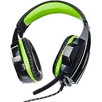 Multilaser PH123 Fone De Ouvido Headset Gamer P2/Cabo Nylon, Verde