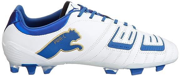 PUMA PowerCat 2.12 FG, Scarpe da Calcio Uomo Bianco Blanc et