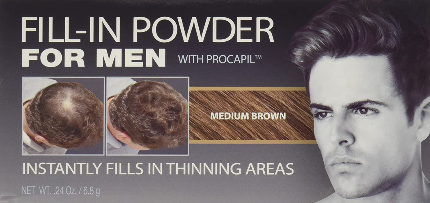 Irene Gari Cover Your Gray Fill-In Powder with Procapil for Men Hair ...