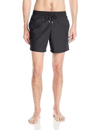 ed000f5cd1 Vilebrequin Men's Moorea Solid Swim Trunk | Amazon.com