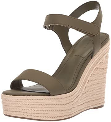 625a4694d619ff Amazon.com  KENDALL + KYLIE Women s Grand Wedge Sandal  Shoes