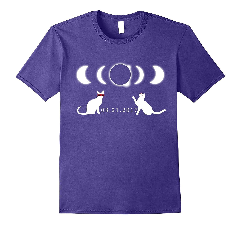 Cat Solar Eclipse T Shirt