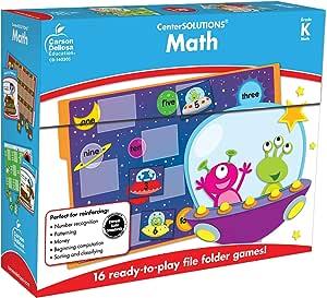 Carson Dellosa Math File Folder Game 140306