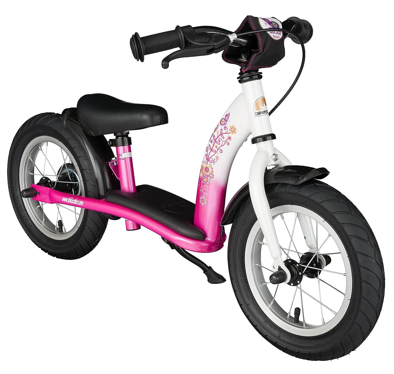 BIKESTAR Bicicleta sin Pedales para ni/ños y ni/ñas 12 Edici/ón Cl/ásica Bici 12 Pulgadas a Partir de 3-4 a/ños con Freno