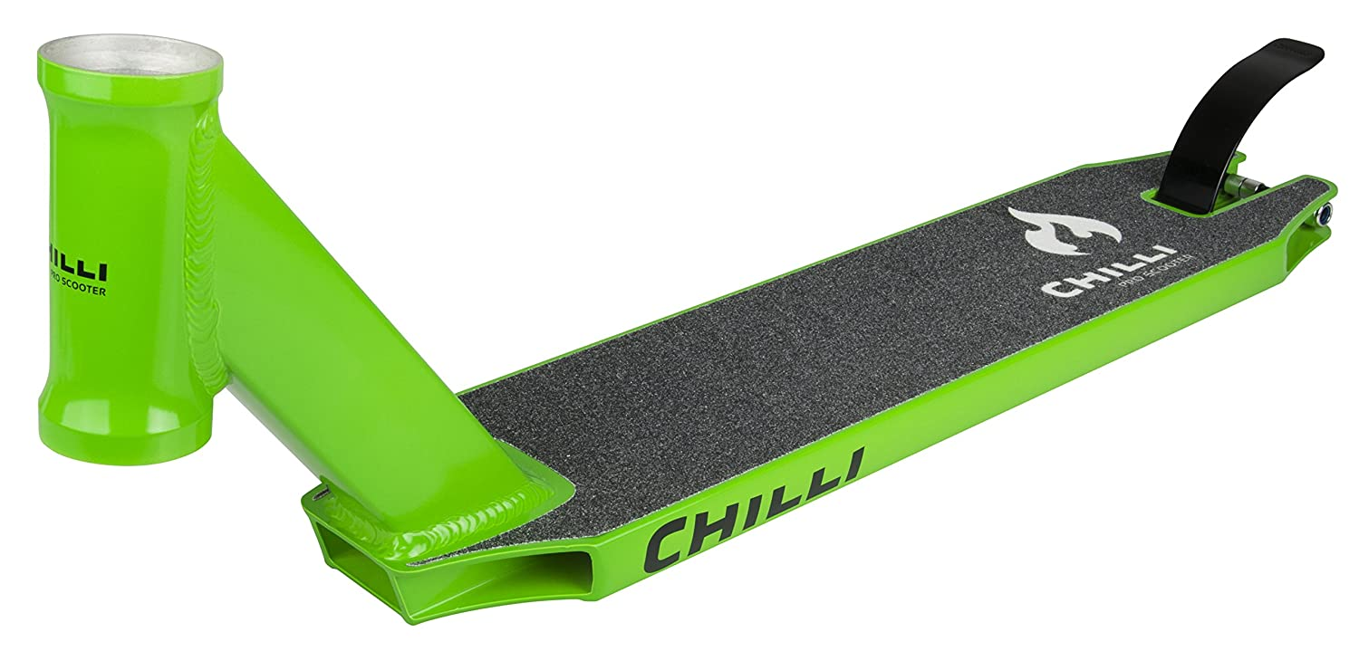 CHILLI Green C50 integrated Stunt-Scooter Deck Flex brake + Griptape C50-green