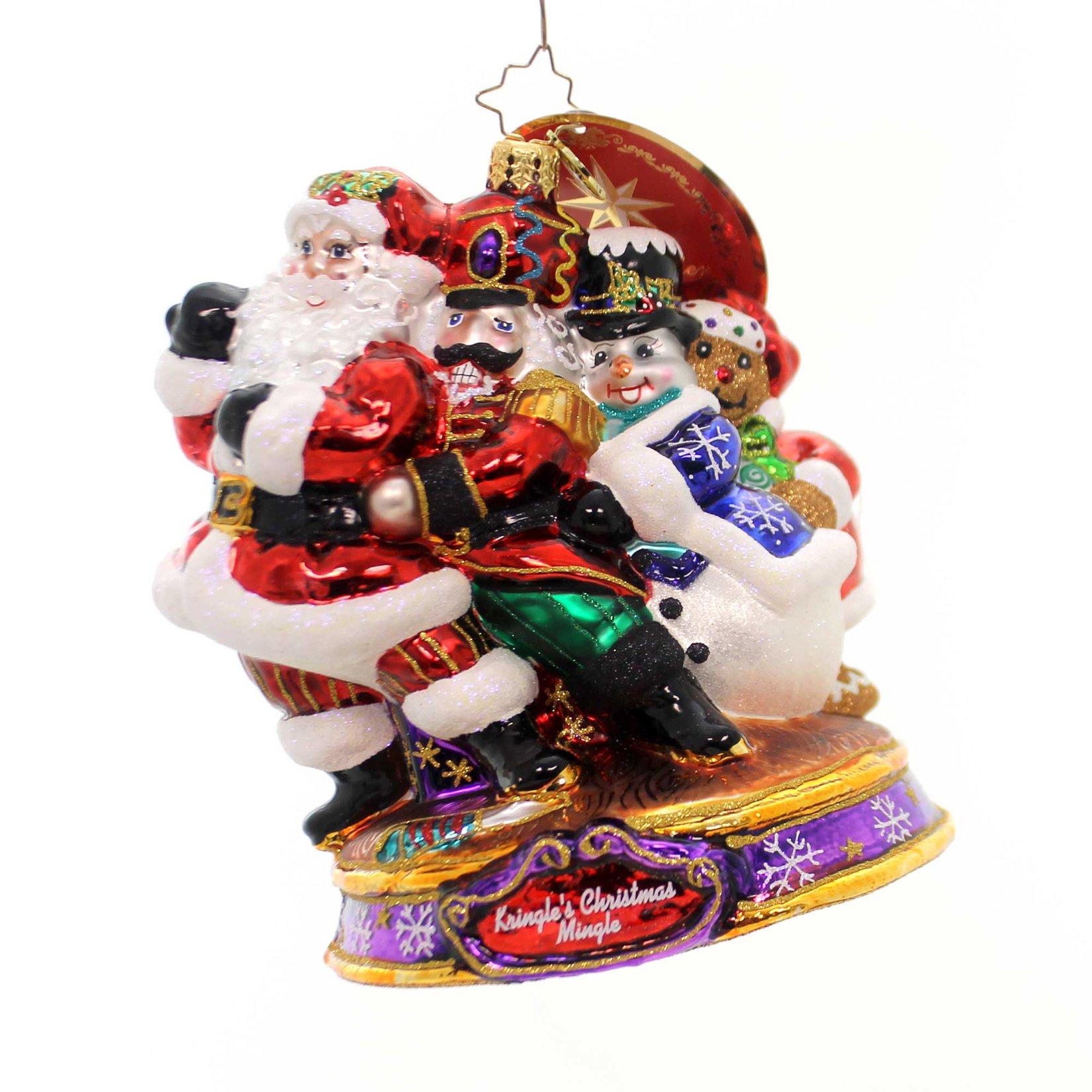Christopher Radko Conga! Santa Kringle's Christmas Mingle Ornament