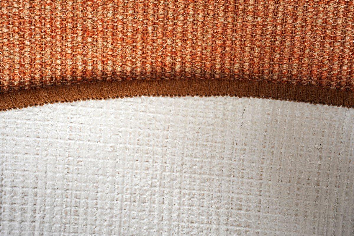 Havatex Sisal Teppich Trumpf rund rund rund - hypoallergene Naturfaser   schadstoffgeprüft pflegeleicht schmutzabweisend strapazierfähig   ideal für Wohnzimmer Schlafzimmer, Farbe Rot, Größe 200 cm rund B07FCRKHVP Teppiche 9c14bf